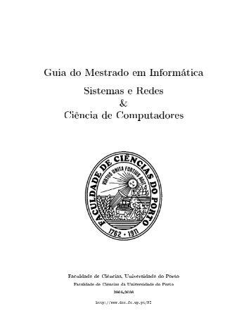 Guia (pdf) - Departamento de Ciência de Computadores