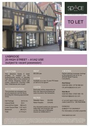 TO LET - Space Retail Property Consultants
