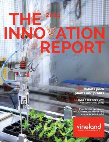 Vineland_Innovation_Report_2014