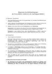 Allgemeine Geschäftsbedingungen der Firma ... - Medianer.com