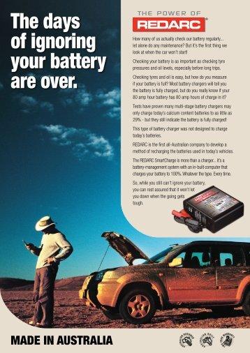 Product brochure SBC - REDARC Electronics