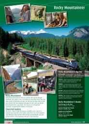 Rocky Mountaineer - Destination Canada