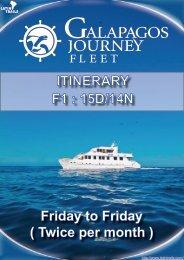 ITINERARY F1 : 15D/14N - Latin Trails
