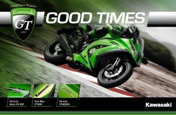 Kawasaki Online Magazin | Ausgabe 2|2010 - Gtonline.kawasaki.info