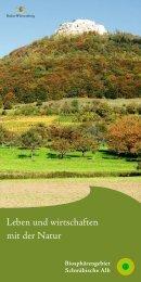 Leben und wirtschaften mit der Natur - EUROPARC Deutschland eV