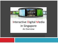 Interactive Digital Media in Singapore - Mobile Marketing Association