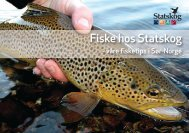 fiske i Sør-Norge (nedlastbar pdf-fil) - Statskog