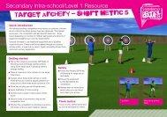 Target Archery - Short Metric 5 - School Games
