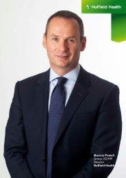 Marcus Powell Group Organisation Development ... - Nuffield Health