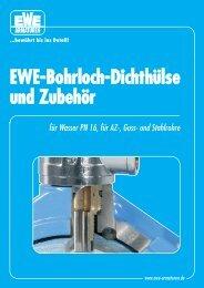 EWE-Bohrloch-Dichthülse und Zubehör