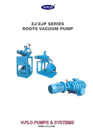 ZJ Root Vacuum Pump - V-FLO