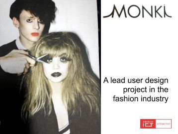 Monki, Lead Users and Fashion - M.Sc. Thesis proposal from ...