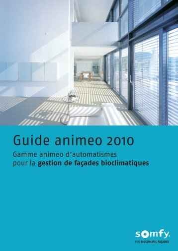 Guide animeo 2010 - Somfy