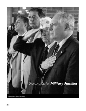 Standing Up For Military Families - Lt. Governor