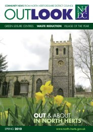 Outlook Spring 2010 - North Hertfordshire District Council