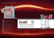 Principe de fonctionnement - Kroll GmbH