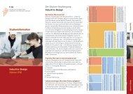 Info-Flyer Industrie-Design (PDF) - Fachbereich Gestaltung ...