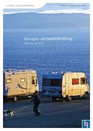 Husvagns- och husbilsförsäkring - Länsförsäkringar