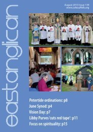 Petertide ordinations: p8 June Synod: p4 Vision Day: p7 Libby ...