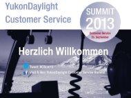 Herzlich Willkommen zum CRM Workshop Aarau ... - YukonDaylight