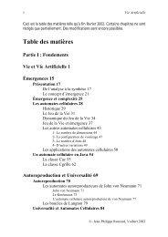 Table des matières - Admiroutes