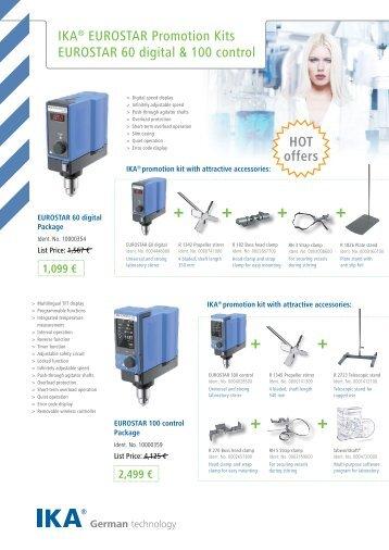 IKA® EUROSTAR Promotion Kits EUROSTAR 60 digital ... - Imlab