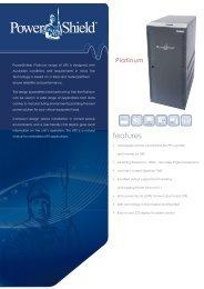 PowerShield Platimnum 2012