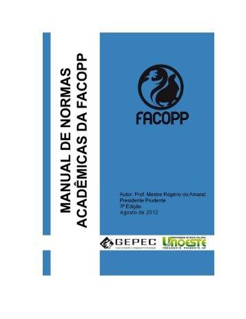 FACOPP - Unoeste