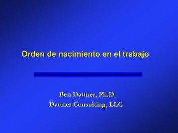 Hijo primogénito - Dattner Consulting