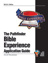 Bible Experience Application Guide - Florida Conference of Seventh ...