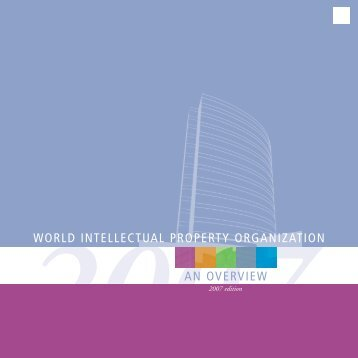 world intellectual property organization an overview - WIPO