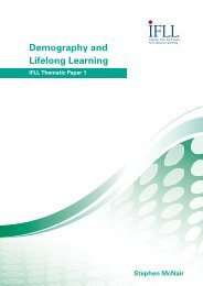 Demography and Lifelong Learning - Reading and Spelling Channel