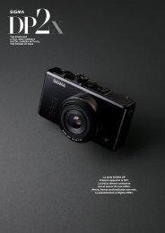 La serie SIGMA DP Primero apareció la DP1. La única cámara ...