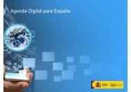 Presentación de la Agenda Digital para España [PDF]