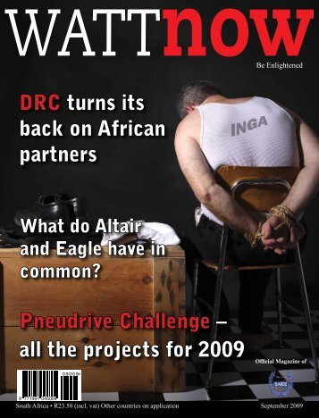 download a PDF of the full September 2009 issue - Watt Now ...