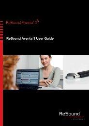ReSound Aventa 3 User Guide - GN ReSound