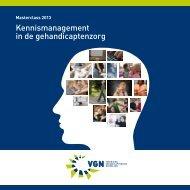 Masterclass 2013, kennismanagement in de ... - Kennisplein