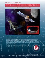 Space & Navigation - L-3 Communications