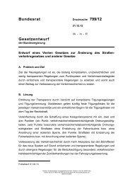 Viertes Gesetz zur Änderung des ... - Umwelt-online