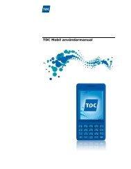 TDC Mobil användarmanual