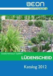Katalog Serie Lüdenscheid - Gartenzaun24