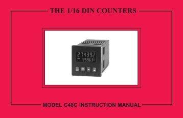 C48C Manual PDF - Red Lion Controls