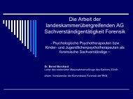 Vortrag 2 von Herrn Dr. Bernd Borchard