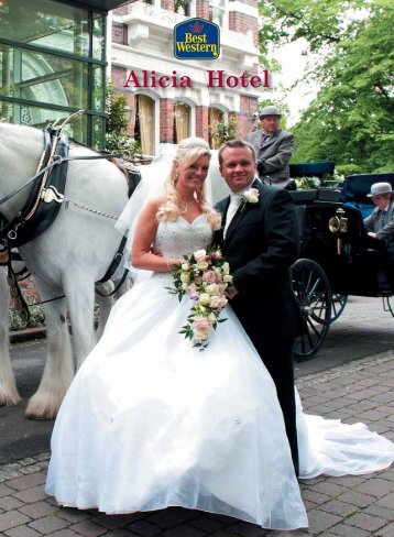 Alicia wedding brochure - Feathers Hotel Group - UK.COM