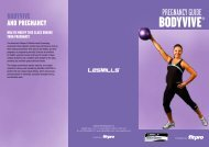 pregnancy guide - Fitness Professionals