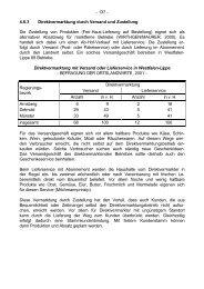 4-6-3 Direktvermarktung durch Versand und Zustellung