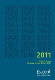 Ecobank Group Abridged Annual Report 2011