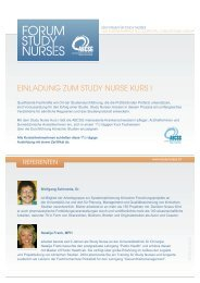 Download Einladung und Programm - Forum Study Nurses ...