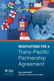 Trans-Pacific Partnership Agreement - Woodrow Wilson ...