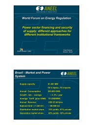 Power sector financing and security of supply - International Energy ...